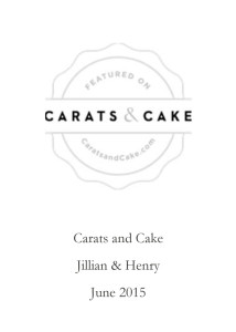 Carats and Cake.June 2015.pub