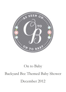 On to Baby.December 2012.pub