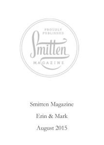 Smitten Magazine.August 2015.pub