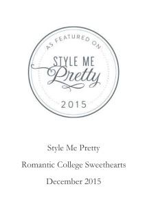 Style Me Pretty.December 2015.pub